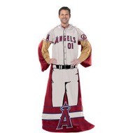 """Los Angeles Angels 48""""x71"""" Comfy Throw - Player Design"""