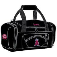 Los Angeles Angels Duffel Bag - Black Roadblock Style