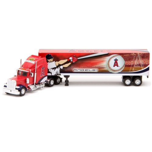 Los Angeles Angels of Anaheim 1:80 Tractor Trailer 2007 Die-Cast Collectible