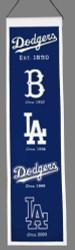 "Los Angeles Dodgers 8""x32"" Heritage Banner"