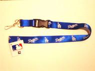 Los Angeles Dodgers Breakaway Lanyard with Key Ring