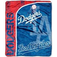 """Los Angeles Dodgers 46"""" x 60"""" Micro Raschel Throw Blanket"""