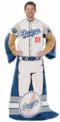 "Los Angeles Dodgers 48""x71"" Comfy Throw - Player Design"
