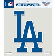 "Los Angeles Dodgers Die-Cut Decal - 8""x8"" Color"
