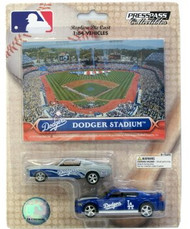 Los Angeles Dodgers 1:64 Dodge Charger & Ford Mustang 2-Pack