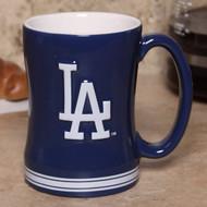 Los Angeles Dodgers Coffee Mug - 15oz Sculpted
