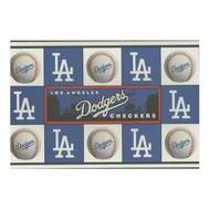 Los Angeles Dodgers Checker Set