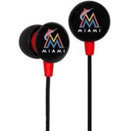 Miami Marlins Ear Buds