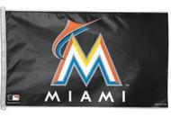 Miami Marlins 3'x5' Flag