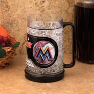 Miami Marlins Crystal Freezer Mug