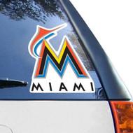 "Miami Marlins Die-Cut Decal - 8""x8"" Color"
