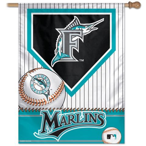 "Miami Marlins 27""x37"" Banner"