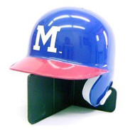 Milwaukee Braves 1953-65 Throwback Mini Batting Helmet