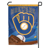 "Milwaukee Brewers 11""x15"" Garden Flag - Retro Logo"