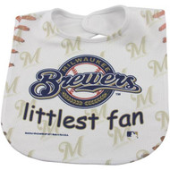 Milwaukee Brewers Baby Bib - Full Color Mesh