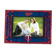 Minnesota Twins Art-Glass Horizontal Picture Frame