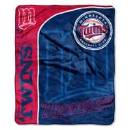 "Minnesota Twins 46"" x 60"" Micro Raschel Throw Blanket"