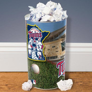 "Minnesota Twins 15"" Waste Basket"