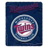 Minnesota Twins 50x60 Fleece Blanket - Wicked Design