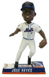 New York Mets Jose Reyes Forever Collectibles On Field Bobble Head