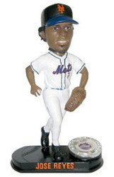 New York Mets Jose Reyes Forever Collectibles Blatinum Bobble Head