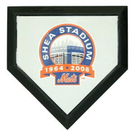 New York Mets Authentic Hollywood Pocket Home Plate - Shea Stadium Final Season Logo