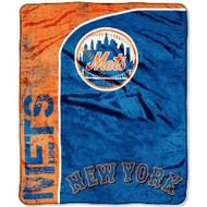 "New York Mets 46"" x 60"" Micro Raschel Throw Blanket"