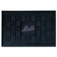 """New York Mets 19""""x30"""" Medallion Door Mat"""