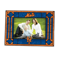 New York Mets Art-Glass Horizontal Picture Frame