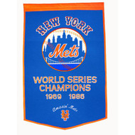 "New York Mets 24""x36"" Wool Dynasty Banner"