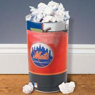 """New York Mets 15"""" Waste Basket"""