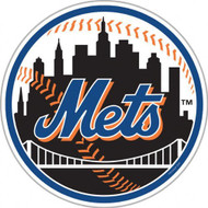 "New York Mets 12"" Car Magnet"