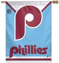 "Philadelphia Phillies 27""x37"" Banner - Throwback Logo"