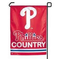 "Philadelphia Phillies 11""x15"" Garden Flag - ""Phillies Country"""