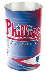"""Philadelphia Phillies 15"""" Waste Basket"""
