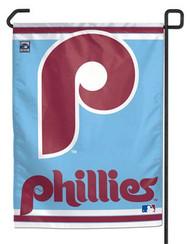 "Philadelphia Phillies 11""x15"" Garden Flag - Retro Logo"