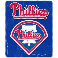 Philadelphia Phillies 50x60 Fleece Blanket - Wicked Design