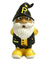 "Pittsburgh Pirates Garden Gnome - 8"" Stumpy"