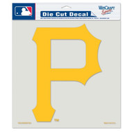 "Pittsburgh Pirates Die-Cut Decal - 8""x8"" Color"