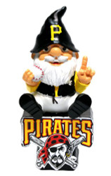 Pittsburgh Pirates Gnome On Team Logo
