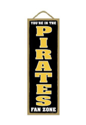 Pittsburgh Pirates Fan Zone Wood Sign