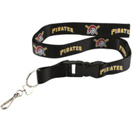 Pittsburgh Pirates Breakaway Lanyard with Key Ring