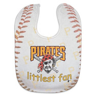 Pittsburgh Pirates Baby Bib - Full Color Mesh