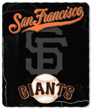 San Francisco Giants 50x60 Fleece Blanket - Wicked Design