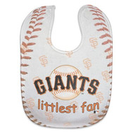 San Francisco Giants Baby Bib - Full Color Mesh
