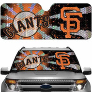 San Francisco Giants Auto Sun Shade