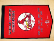 "St. Louis Cardinals 24""x36"" Wool Dynasty Banner"