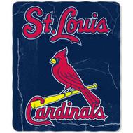 St. Louis Cardinals 50x60 Fleece Blanket - Wicked Design