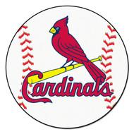 """St. Louis Cardinals 29"""" Baseball Mat"""