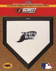 Tampa Bay Devil Rays Hollywood Mini Pro Home Plate